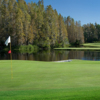 A view of the 9th green at Saddlebrook from Saddlebrook Golf & Tennis Resort